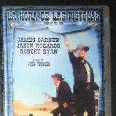 Cine: DVD - LA HORA DE LAS PISTOLAS - DIR. JOHN STURGES. Lote 84298984