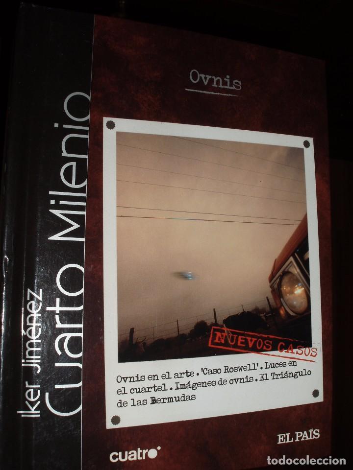 Dvd y libro cuarto milenio ovnis.iker jimenez - Vendido en Venta ...