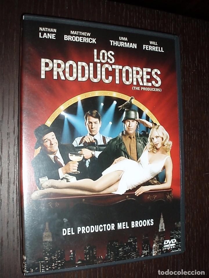 CINE DVD PELICULA LOS PRODUCTORES (Cine - Películas - DVD)