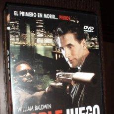 Cine: CINE DVD PELICULA DOBLE JUEGO. Lote 84446512