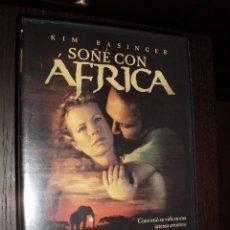 Cine: CINE DVD PELICULA SOÑE CON AFRICA. Lote 84459440