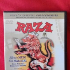 Cine: 2 DVD RAZA, ESPÍRITU DE UNA RAZA EDICIÓN ESPECIAL COLECCIONISTA. SUPERDESCATALOGADA.. Lote 84481272