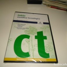Cine: DVD AMBITO CIENTIFICO TECNOLOGICO GRADUADO NUEVO PRECINTADO . Lote 84736388
