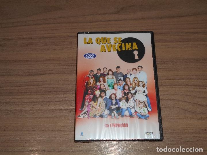 LA QUE SE AVECINA TEMPORADA 3 COMPLETA 5 DVD 980 MIN. NUEVA PRECINTADA (Cine - Películas - DVD)