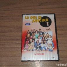 Cine: LA QUE SE AVECINA TEMPORADA 3 COMPLETA 5 DVD 980 MIN. NUEVA PRECINTADA. Lote 235175960
