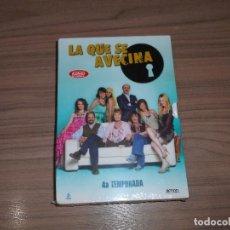 Cine: LA QUE SE AVECINA TEMPORADA 4 COMPLETA 5 DVD 1.018 MIN. NUEVA PRECINTADA. Lote 148212382