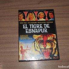 Cine: EL TIGRE DE ESNAPUR DVD DE FRITZ LANG DEBRA PAGET NUEVA PRECINTADA. Lote 143152013