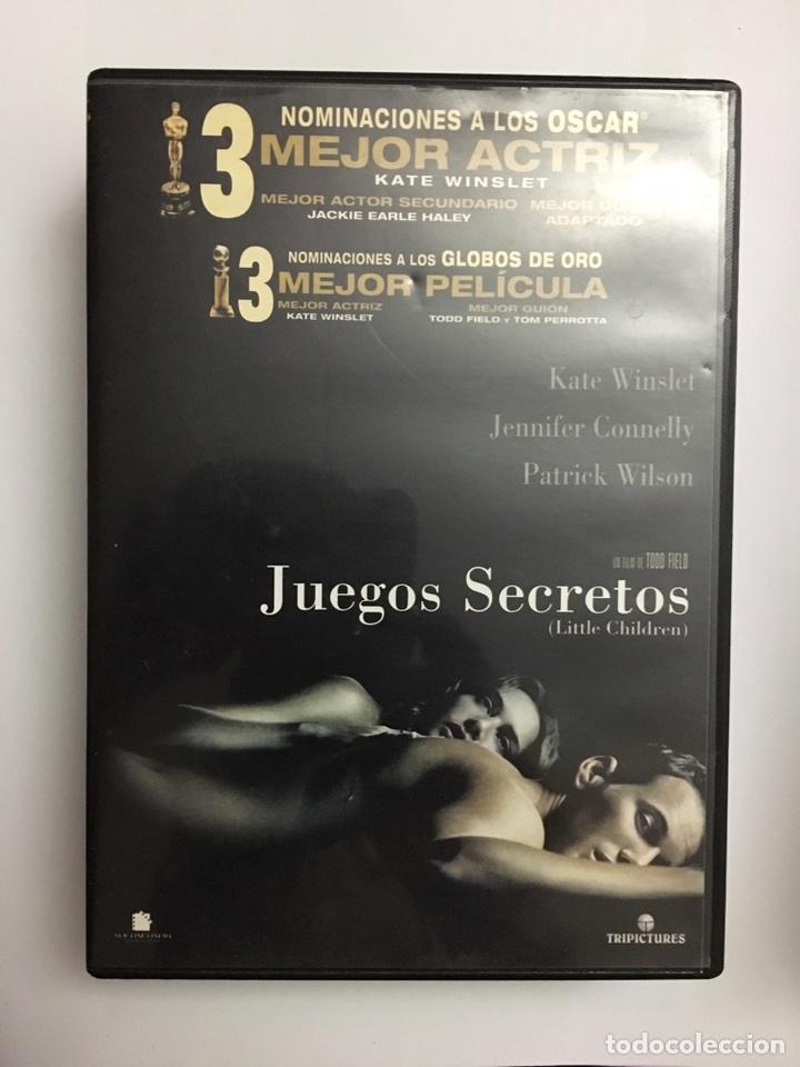 Juegos Secretos Dvd Comprar Peliculas En Dvd En Todocoleccion