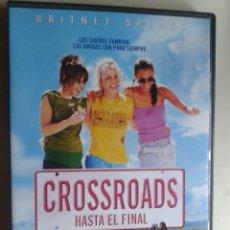 Cine: CROSSROADS (HASTA EL FINAL) ** DE TAMRA DAVIS CON BRITNEY SPEARS, ZOË SALDANA, ANSON MOUNT **. Lote 85108052