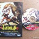 Cine: PELICULA DE DVD SANDOKAN CONTRA EL LEOPARDO DE SARAWAK - RAY DANTON FRANCA BETTOJA MAR -REFHAULDEPU. Lote 85140876