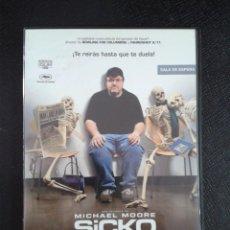 Cine: SICKO (MICHAEL MOORE) EDICION DOS DISCOS. Lote 85322452