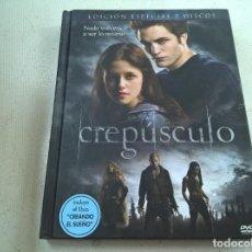 Cine: CREPUSCULO-EDICION ESPECIAL 2 DISCOS-2 DVD-N. Lote 85515788