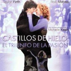 Cine: DVD CASTILLOS DE HIELO : EL TRIUNFO DE LA PASIÓN TAYLOR KIRTH. Lote 85548048