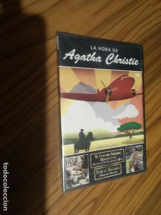 LA HORA DE AGATHA CHRISTIE. EL CASO DEL SOLDADO DESCONTENTO. FLOR DE MAGNOLIA. CAJA SLIM. PRECINTADO (Cine - Películas - DVD)