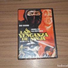 Cine: LA VENGANZA DE NINJA EDICION ESPECIAL DVD + LIBRO 14 PAG. NUEVA PRECINTADA. Lote 222318072