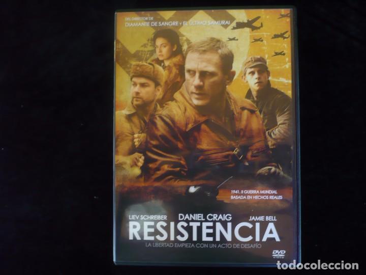 RESISTENCIA, DANIEL CRAIG - DVD COMO NUEVO (Cine - Películas - DVD)