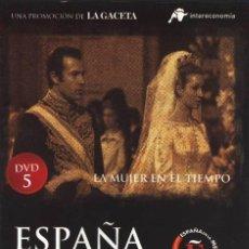 Cine: DVD LA MUJER EN EL TIEMPO ESPAÑA EN LA MEMORIA Nº 5 UN DOCUMENTAL DE ALFONSO ARTESERO. Lote 86263520