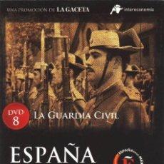 Cine: DVD ESPAÑA EN LA MEMORIA Nº 8 LA GUARDIA CIVIL UN DOCUMENTAL DE ALFONSO ARTESEROS. Lote 86266840