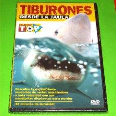 Cine: TIBURONES DESDE LA JAULA - PRECINTADA. Lote 86309676