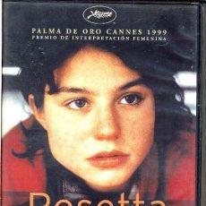 Cine: ROSETTA DVD (HERMANOS DARDENNE).UNA CHICA VAPULEADA POR LA VIDA ...PERO LUCHADORA CON UÑAS Y DIENTES. Lote 262797615