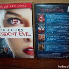 Cine: PACK RESIDENT EVIL COLECCION EN DVD - 4 DVDS . Lote 86343388