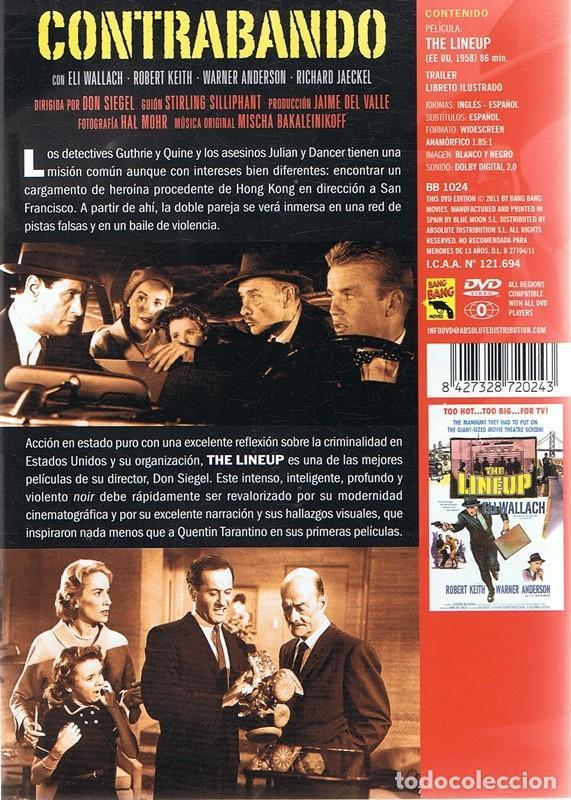 Cine: DVD CONTRABANDO ELI WALLACH - Foto 2 - 86358956