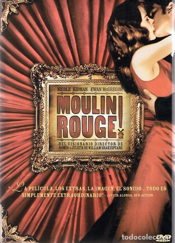 Dvd Moulin Rouge Nicole Kidman 2 Discos Kaufen Filme Auf Dvd In