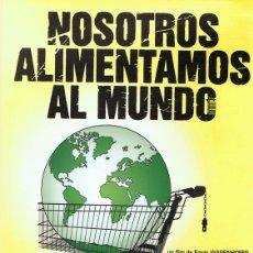 Cine: DVD NOSOTROS ALIMENTAMOS AL MUNDO . Lote 89116236
