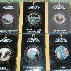 Cine: LOTE DE 10 DVD'S DE NATIONAL GEOGRAPHIC EDITADOS POR RBA COMPLETAMENTE NUEVOS.. Lote 86546048