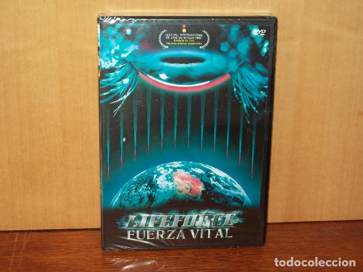 LIFEFORCE (FUERZA VITAL) -DIRIGIDA POR TOBE HOOPER -DVD NUEVO PRECINTADO (Cine - Películas - DVD)