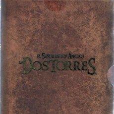 Cine: DVD EL SEÑOR DE LOS ANILLOS ¨LAS DOS TORRES¨ VERSIÓN EXTENDIDA ( 4 DISCOS). Lote 86634932