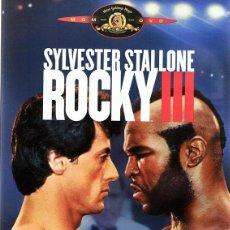 Cine: DVD ROCKY III SYLVESTER STALLONE . Lote 86640028