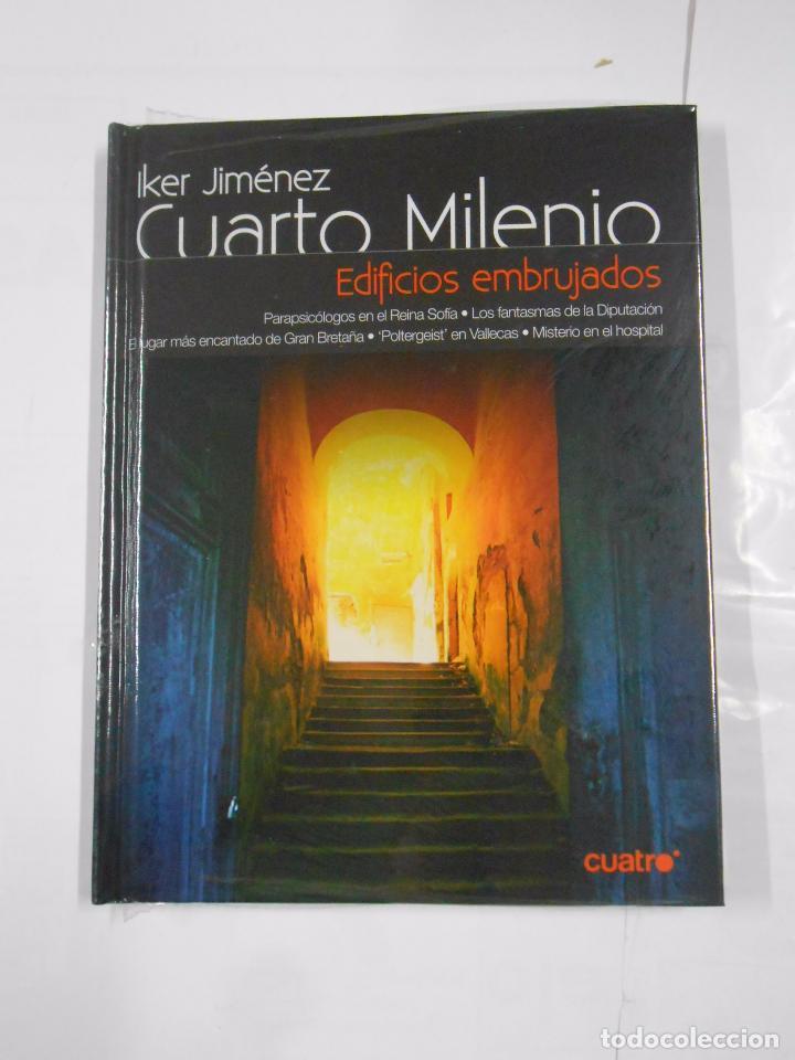 COLECCION IKER JIMENEZ CUARTO MILENIO. 25 LIBROS DVD. COLECCION COMPLETA  NUEVA. 1ª TEMPORADA. TDK376