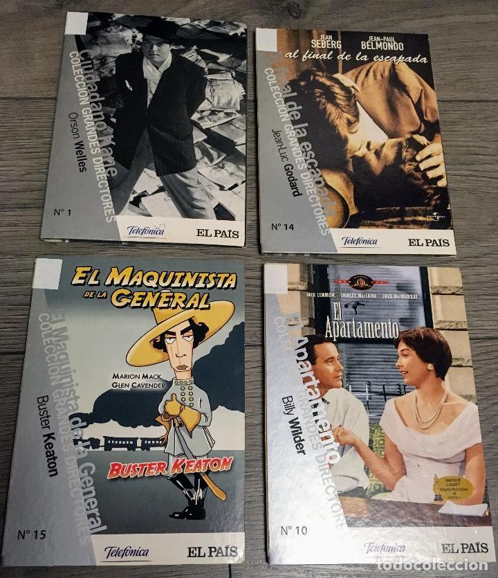 4 DVD ANTIGUOS COLECCION GRANDES DIRECTORES (Cine - Películas - DVD)