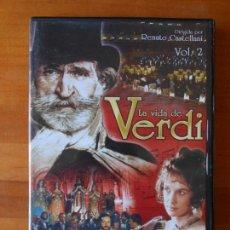 Cine: DVD LA VIDA DE VERDI VOL. 2 - RENATO CASTELLANI (T6). Lote 86910268