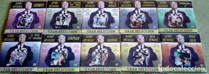 10 DVD GRAN SELECCION ALFRED HITCHCOCK. A ESTRENAR (Cine - Películas - DVD)