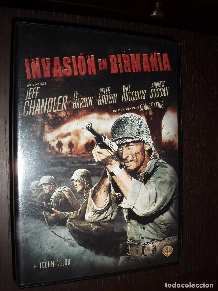 CINE CLASICO DVD PELICULA CLASICA INVASION EN BIRMANIA (Cine - Películas - DVD)