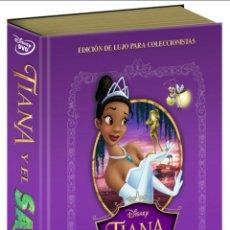 Cine: TIANA Y EL SAPO-EDICION DVD + LIBRO-DISNEY. Lote 163781177