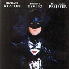 Cine: DVD BATMAN VUELVE MICHAEL KEATON . Lote 87054732