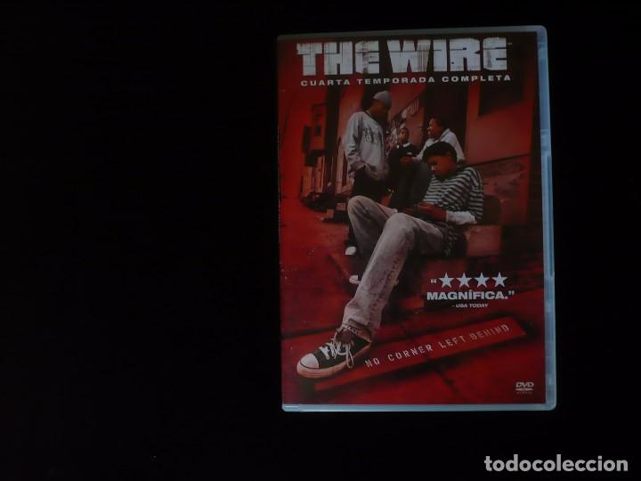 the wire cuarta temporada completa, 13 episodios en 5 discos