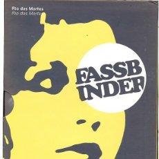 Cine: RIO DAS MORTES (R. W. FASSBINDER) - UN FILM ESENCIAL DEL GENIAL DIRECTOR. Lote 87131148