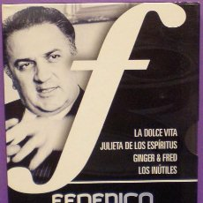 Cine: FELLINI COLLECTION - 6 DVDS - 4 PELÍCULAS + 'CAMINANDO CON FELLINI' DOCUMENTAL EN 2 DISCOS.. Lote 87154944