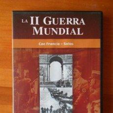 Cine: DVD LA II GUERRA MUNDIAL 2 - CAE FRANCIA - SOLOS (Q5). Lote 87174388