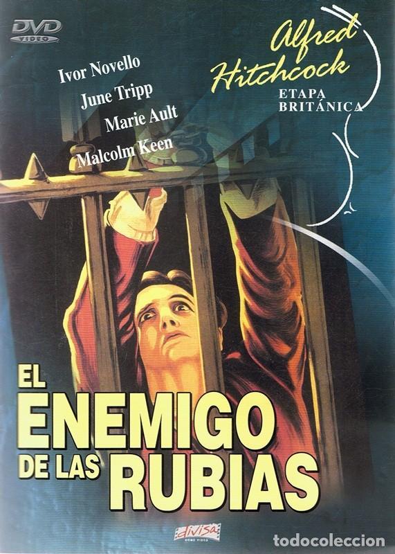 DVD EL ENEMIGO DE LAS RUBIAS IVOR NOVELLO (Cine - Películas - DVD)