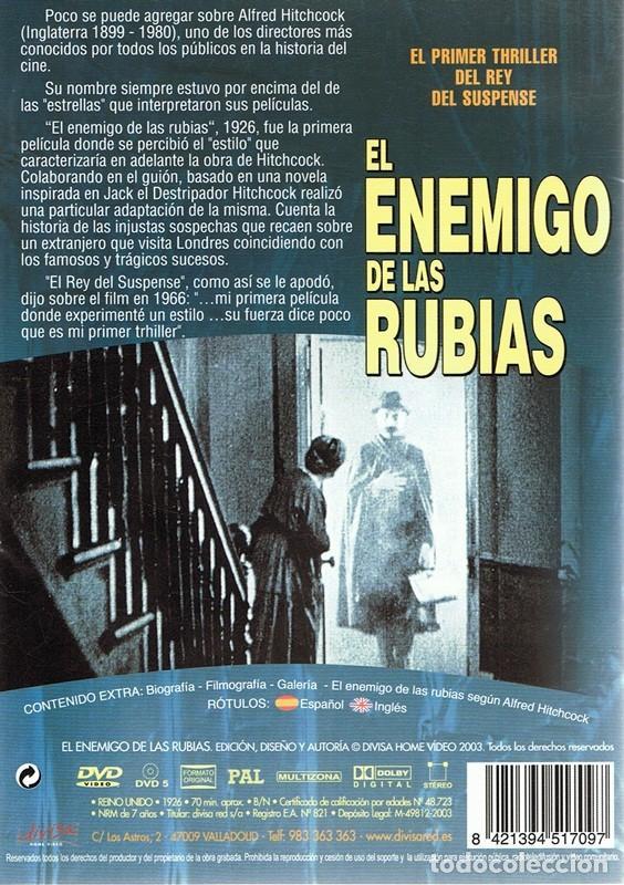 Cine: DVD EL ENEMIGO DE LAS RUBIAS IVOR NOVELLO - Foto 2 - 87218664