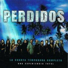 Cine: DVD PERDIDOS CUARTA TEMPORADA COMPLETA ( 6 DVD). Lote 87258004