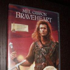 Cine: CINE DVD PELICULA BRAVEHEART EDICION ESPECIAL MASTER DIGITAL 2 DISCOS. Lote 87258040