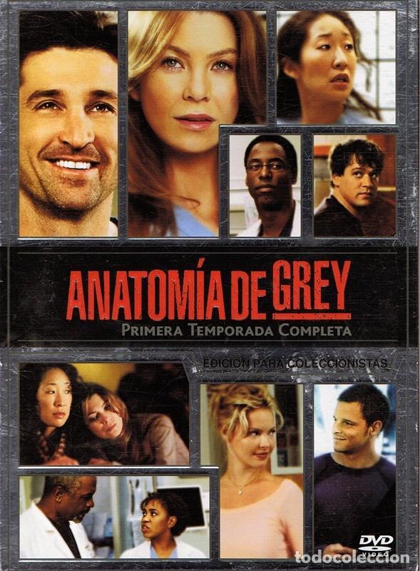 dvd anatomía de grey 1ª temporada completa ( ed - Comprar Películas ...