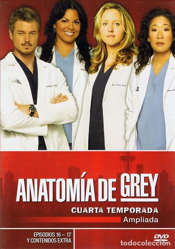dvd anatomía de grey 4ª temporada ( 5 discos) - Comprar Películas en ...