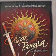 Cine: DVD CINE - CESAR BORGIA, EL DUQUE NEGRO - NUEVO CON EL PRECINTO ORIGINAL. Lote 87462188